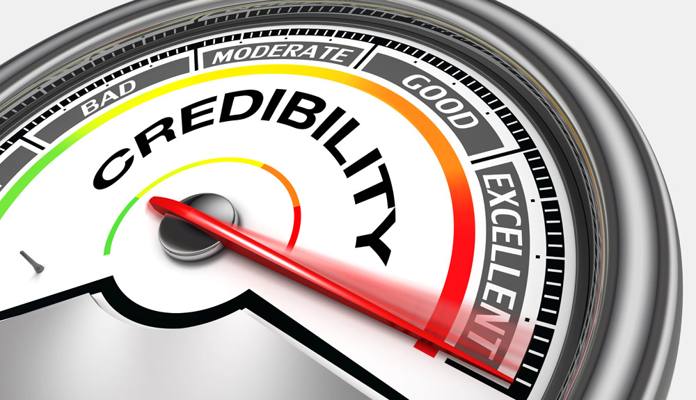 Are You Increasing Your Credibility Meter?